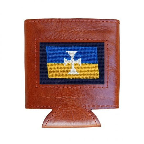 Smathers & Branson ACCESSORIES - KOOZIES - GREEK Smathers & Branson, Sigma Chi Needlepoint Can Cooler