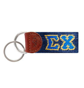 Smathers & Branson ACCESSORIES - KEY FOBS - GREEK Smathers & Branson, Sigma Chi Needlepoint Key Fob