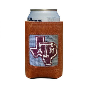 Smathers & Branson ACCESSORIES - KOOZIES - COLLEGIATE Smathers & Branson, Texas A&M Can Cooler, Grey