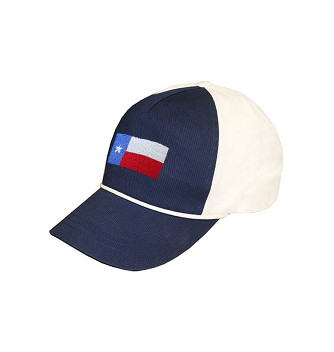 Smathers & Branson ACCESSORIES - BASEBALL Smathers & Branson, Texas Flag Needlepoint Rope Hat