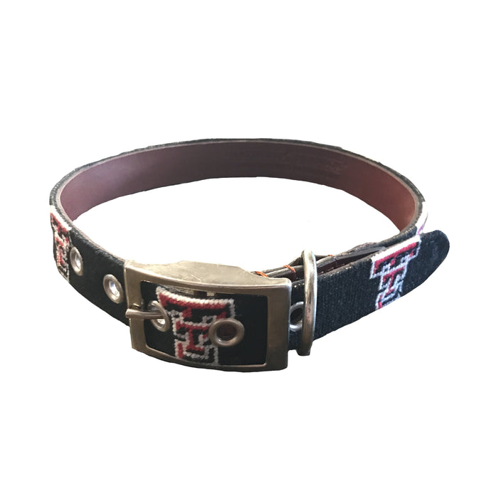 Smathers & Branson FIELDDOG - DOG - DOG COLLAR Smathers & Branson, Texas Tech University Needlepoint Dog Collar