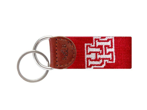 Smathers & Branson ACCESSORIES - KEY FOBS - COLLEGIATE Smathers & Branson, University of Houston Needlepoint Key Fob
