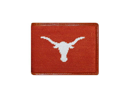 Smathers & Branson ACCESSORIES - WALLETS - BIFOLDTRIFOLD Smathers & Branson, University of Texas Needlepoint Bi-Fold Wallet