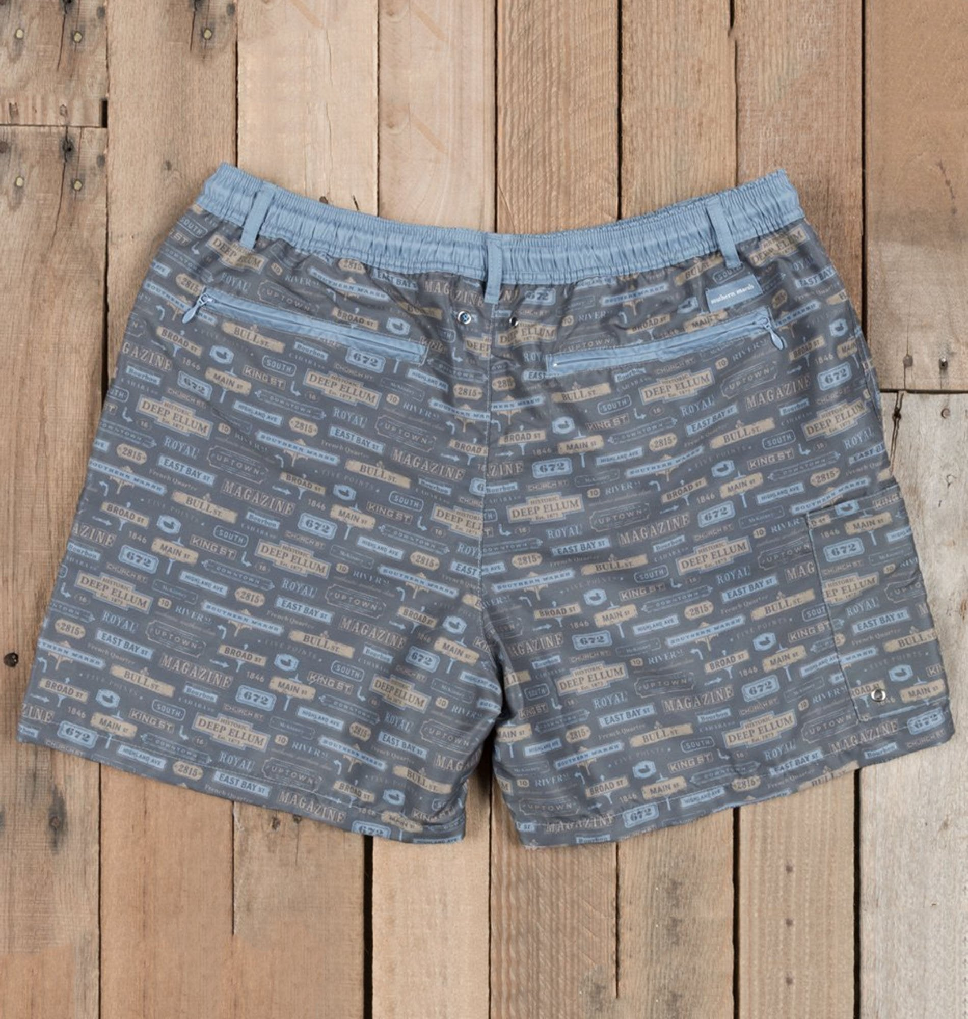 cbfece4b8201a ... Southern Marsh MEN - SWIM Southern Marsh, Dockside Swim Trunk -  Avenues, Navy ...