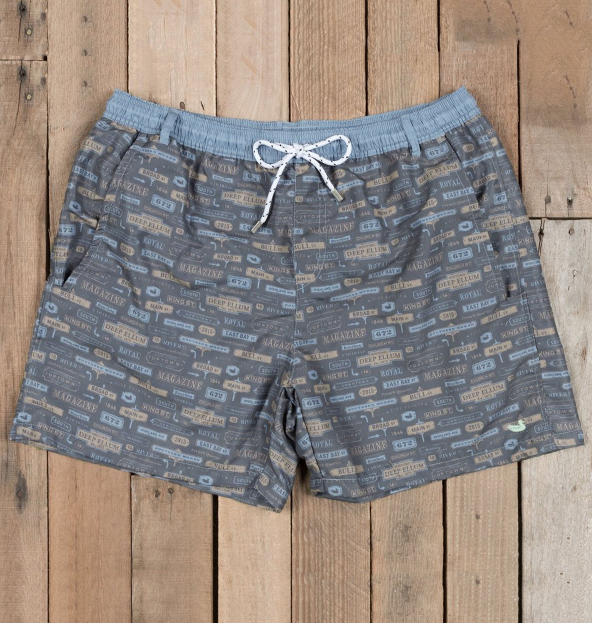 a9bacc3c5de84 Southern Marsh MEN - SWIM Southern Marsh, Dockside Swim Trunk - Avenues,  Navy ...