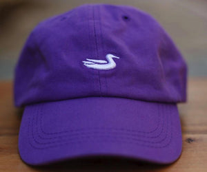 Southern Marsh ACCESSORIES - HATS - BASEBALL Southern Marsh, SIgnature Hat, Royal Purple with White Duck