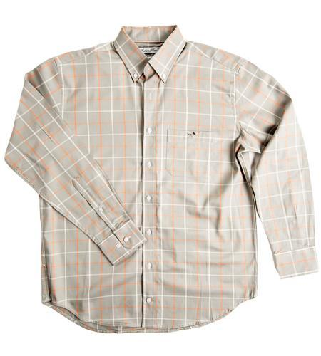Southern Point Co MEN - SHIRTS - BUTTON DOWNS Southern Point, Hadley Shirt, Grey Plaid