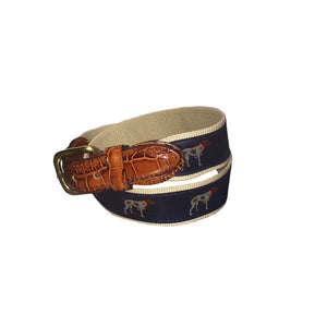 Southern Point Co ACCESSORIES - BELTS - RIBBON Southern Point, Ribbon Belt, Navy