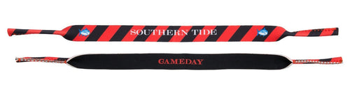 Southern Tide ACCESSORIES - SUNGLASS STRAPS Southern Tide, Gameday Colors Sunglass Straps, Varisty Red/Black