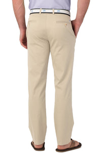 Southern Tide MEN - PANTS - DRESS PANTS Southern Tide, Summer Weight Channel Marker Classic Fit Pant, Stone