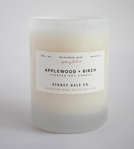 Sydney Hale Co HOME - CANDLES Sydney Hale Co, Applewood and Birch Candle