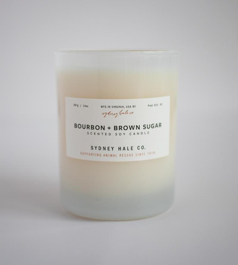 Sydney Hale Co HOME - CANDLES Sydney Hale Co, Bourbon and Brown Sugar Candle