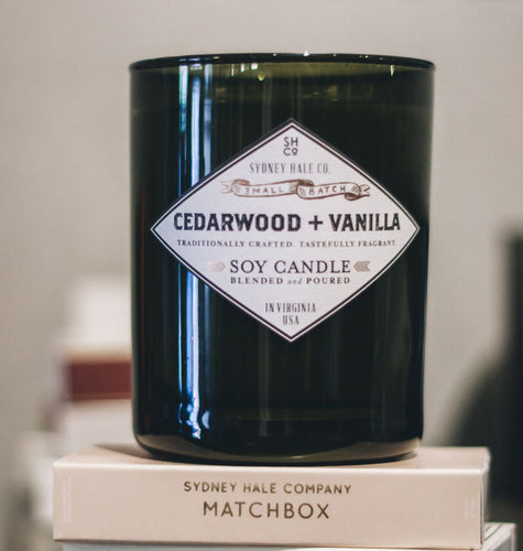 Sydney Hale Co HOME - CANDLES Sydney Hale Co, Cedarwood and Vanilla Candle