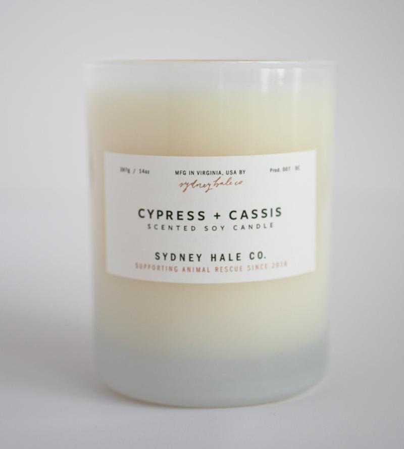 Sydney Hale Co HOME - CANDLES Sydney Hale Co, Cypress and Cassis Candle