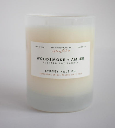 Sydney Hale Co HOME - CANDLES Sydney Hale Co., Woodsmoke and Amber Candle