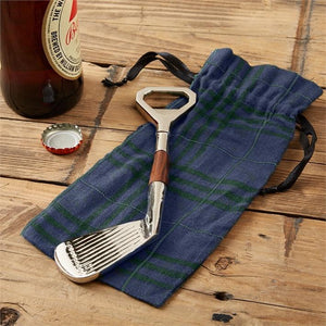 Two's Company HOME - DRINKWARE - TOOLS Two's Company, Golf Club Bottle Opener