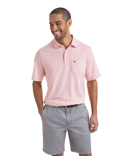 Vineyard Vines MEN - SHIRTS - POLOS Vineyard Vines, Solid Edgartown Polo, Toucan