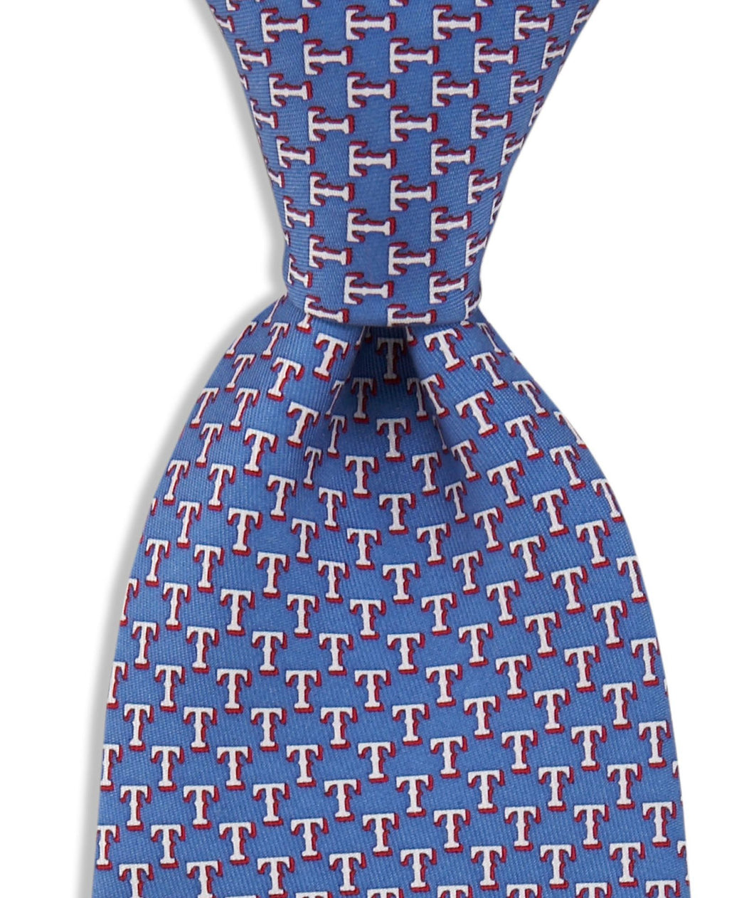 Vineyard Vines ACCESSORIES - NECKWEAR - TIES Vineyard Vines, Texas Rangers Tie, Royal Blue