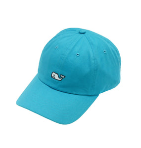 Vineyard Vines ACCESSORIES - HATS - BASEBALL Vineyard Vines, Whale Logo Baseball Hat, Aqua Blue