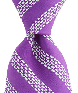 Vineyard Vines ACCESSORIES - NECKWEAR - TIES Vineyard Vines, Whale Rep Stripe Tie, Purple