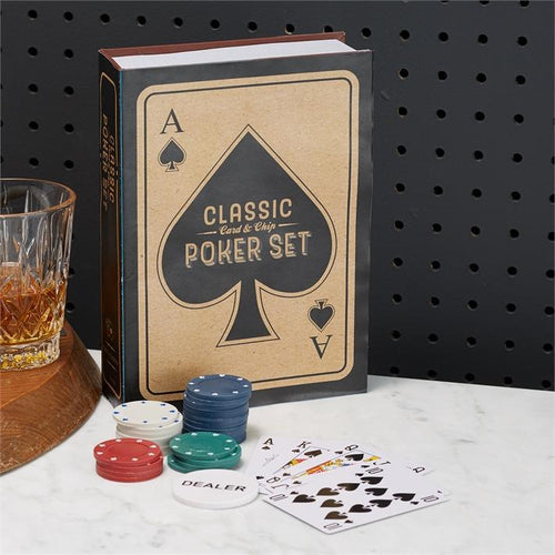 Two's Company HOME - GAMES White / OS Two's Company, Classic Poker Set