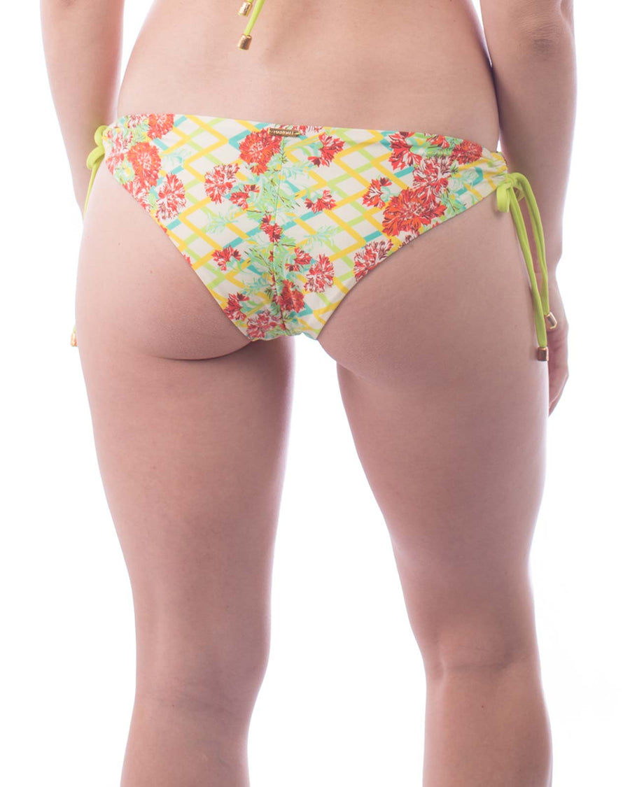 GREEN FLOWER LACE UP BOTTOM BY MAR DALI