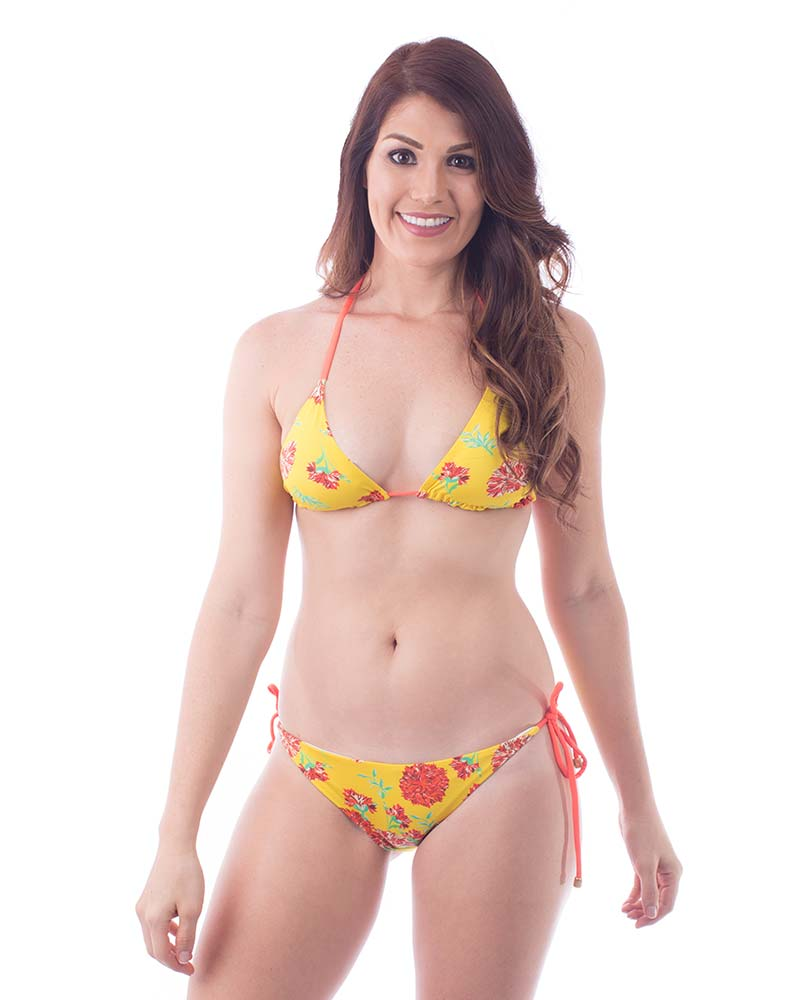 FLOWER BASIC BIKINI BOTTOM MAR DALI B027C12