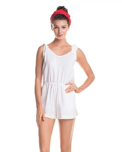 WHITE SANDS ROMPER TOUCHE 0A68083