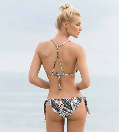 PALM PARADISE TIE SIDE BOTTOM TOUCHE 0P19091