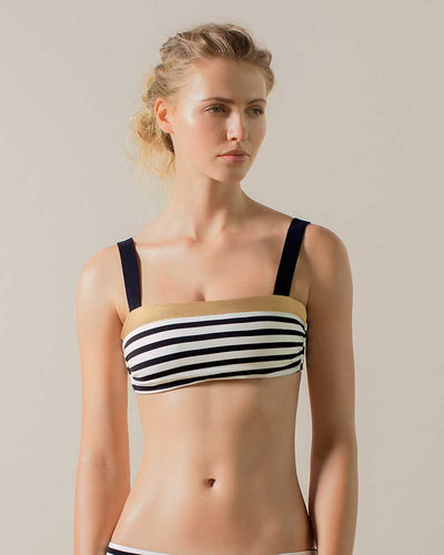 HONEYED BANDEAU TOP TOUCHE 0B34082