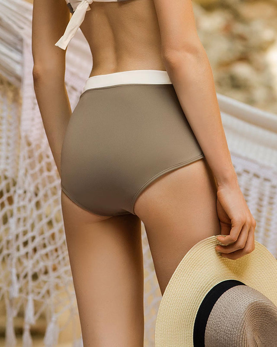 GOLD LUXE HIGH WAIST BOTTOM TOUCHE 0P38071