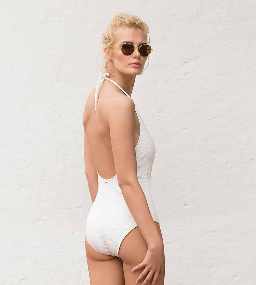 VANILLA ICE HIGH NECK ONE PIECE BY TOUCHE