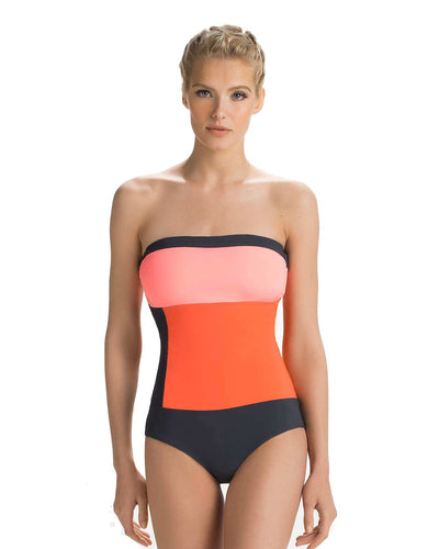 AUTUMN BANDEAU ONE PIECE TOUCHE 0E30081