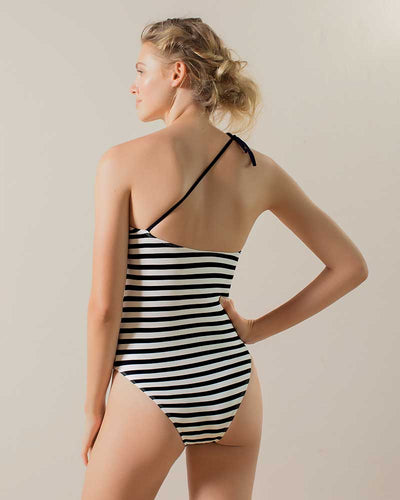 HONEYED ONE SHOULDER ONE PIECE TOUCHE 0E33082