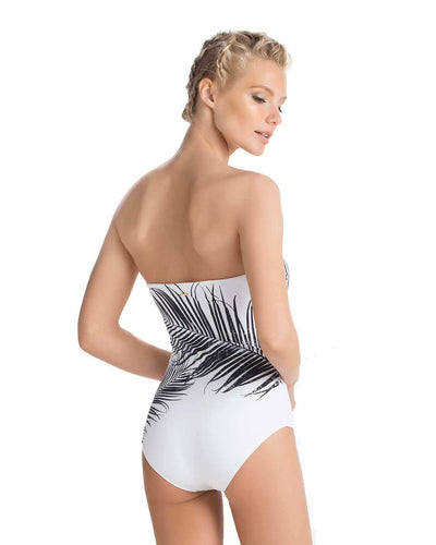 TROPIQUE BANDEAU ONE PIECE TOUCHE 0E87081