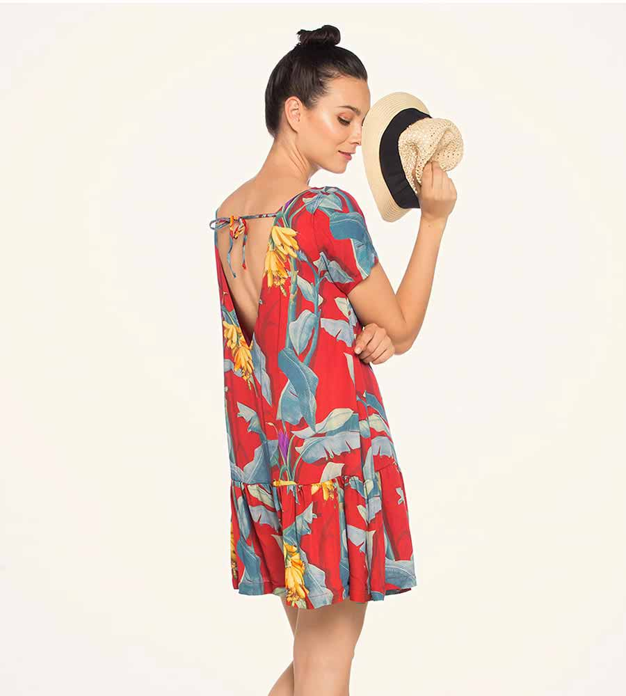 TROPICAL BREEZE SHORT DRESS TOUCHE 0F25091