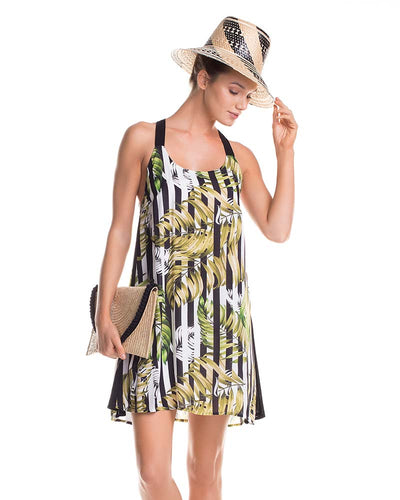 BREEZY PALMS SHORT DRESS TOUCHE 0F71083