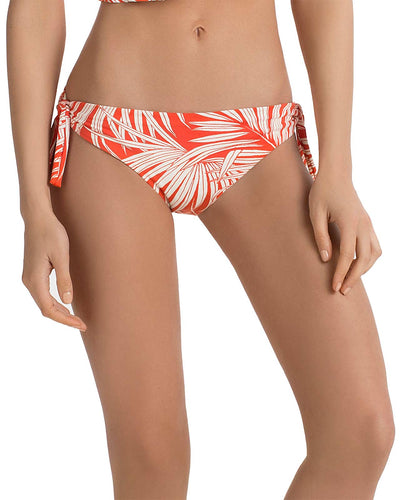 TANGERINE PALMS TIE SIDE BIKINI BOTTOM TOUCHE 0P12081
