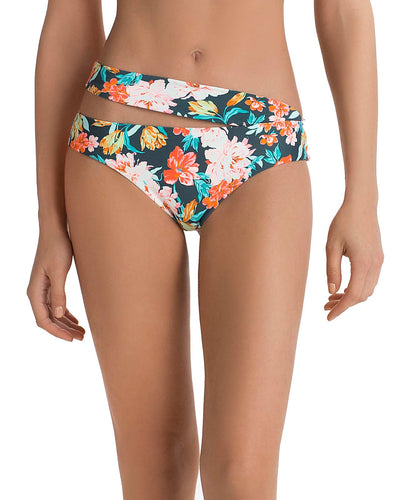 FRESH FLEUR HIGH WAIST BIKINI BOTTOM TOUCHE 0P23081