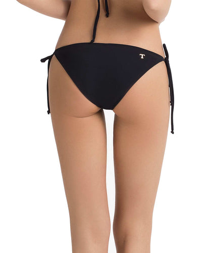 BLACK BASIC TIE SIDE BIKINI BOTTOM TOUCHE 0P26052