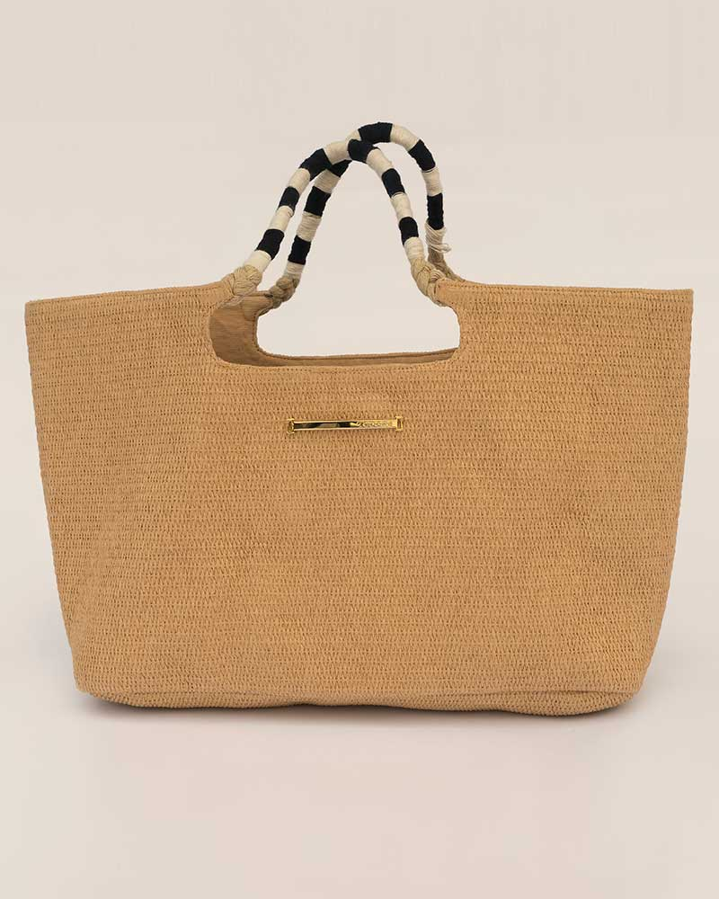 BURLAP SUMMER BAG TOUCHE 0S38082