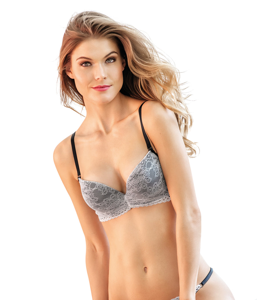 VANILLA LACE PUSH UP BRA KIBYS 10411.VNL