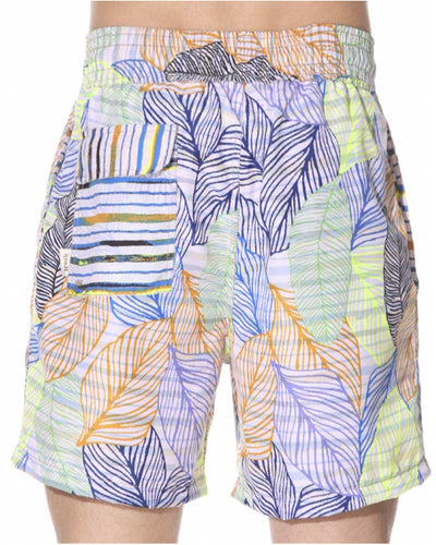 BLUE SKY BLUE REVERSIBLE SHORT MAAJI 1042TRS02