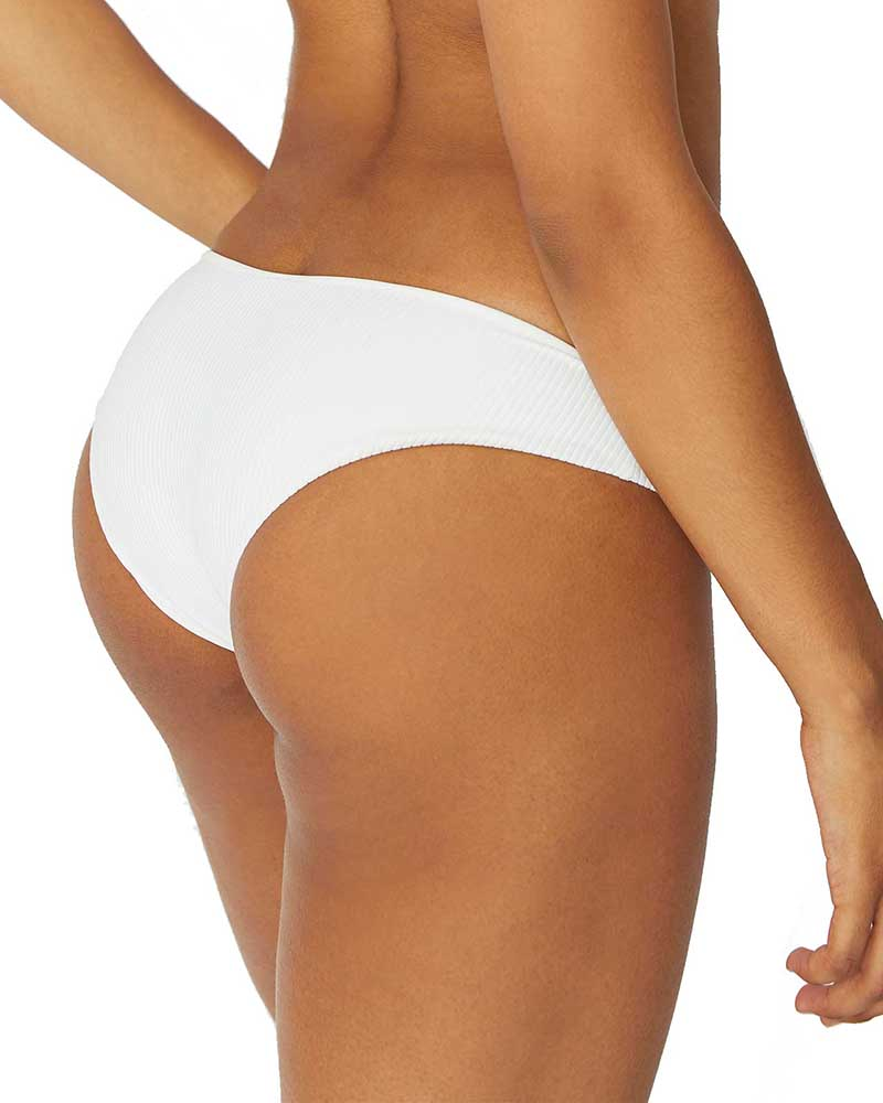 WHITE HANALEI BOTTOM BY FRANKIES BIKINIS