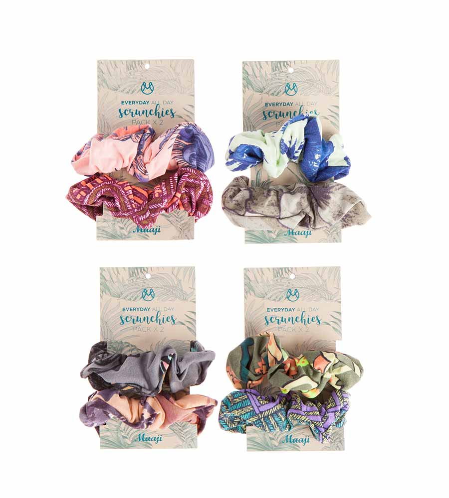 SCRUNCHIES BY MAAJI