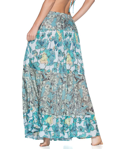 TROPIC TERRAIN LONG SKIRT MAAJI 1489CKL01