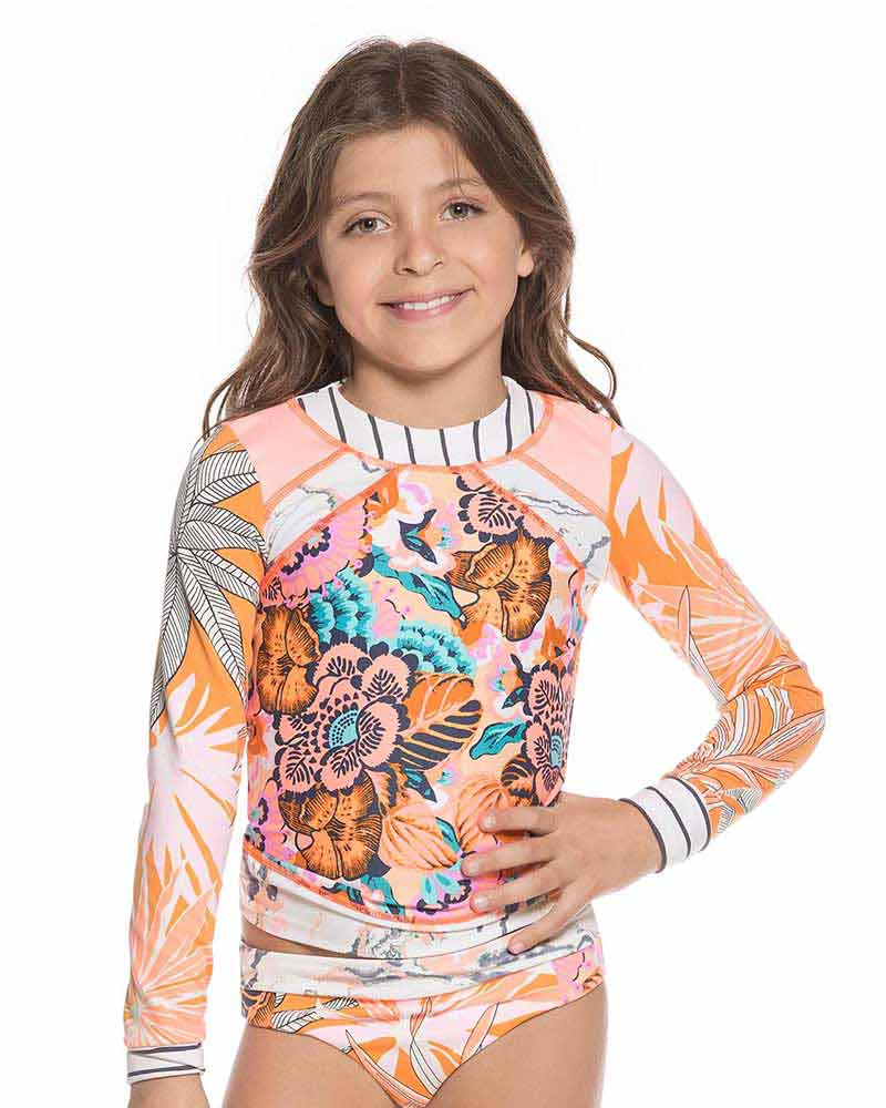 PEACHES & BEACHES KIDS RASHGUARD MAAJI 1682KKR01