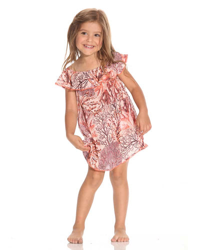 STARFISH WISHES GIRLS DRESS MAAJI 1689KKC02