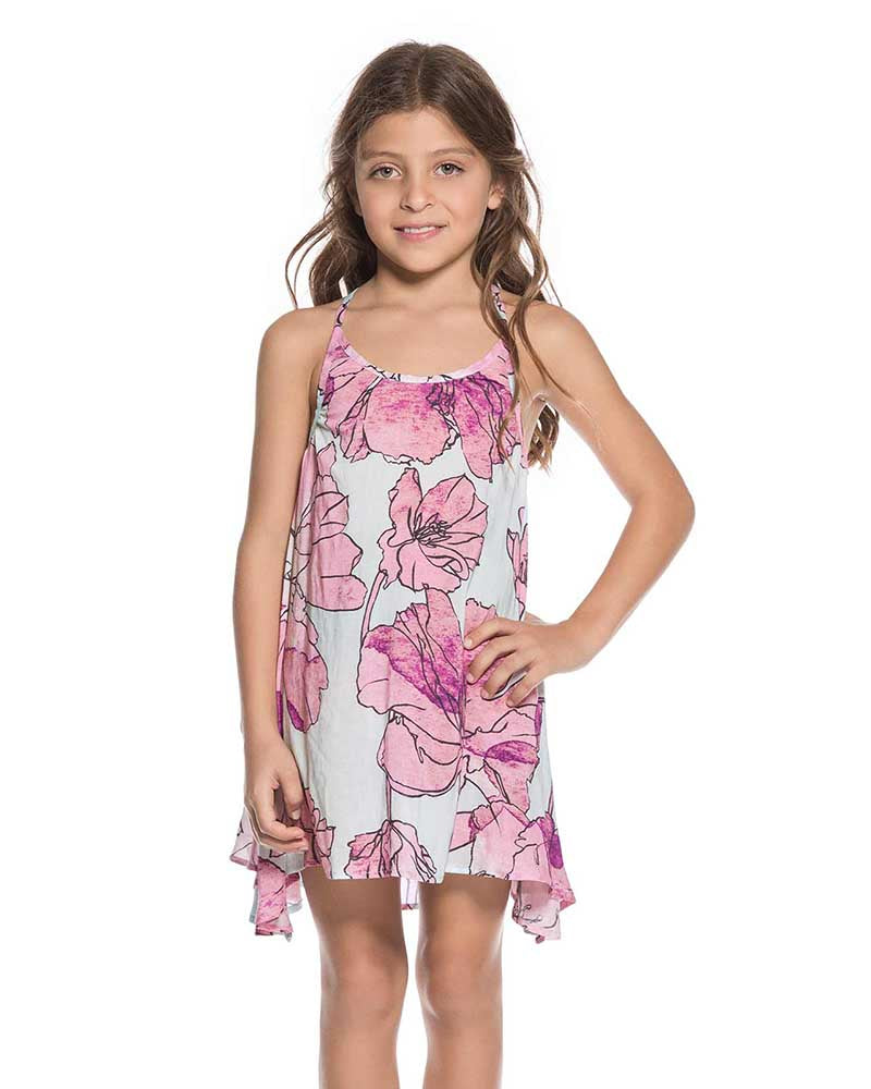 WATERCOLOR GARDEN KIDS DRESS MAAJI 1694KKC01