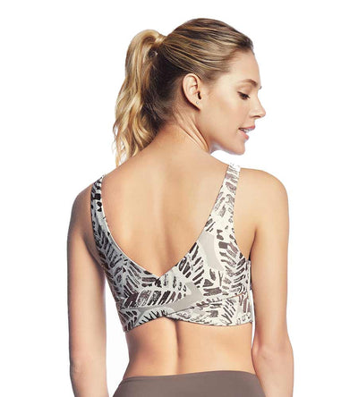 TWIST BLOOMER COCOA MEDIUM IMPACT SPORTS BRA MAAJI 1760ASB13
